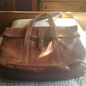 L.L. Bean Oversized Leather Bag